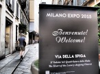 EXPO sign in Milan