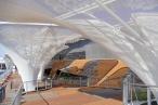 Deutscher Pavillon Deck und Solar Trees