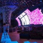 Inside Iran Pavilion