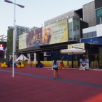 EU pavilion at daytime