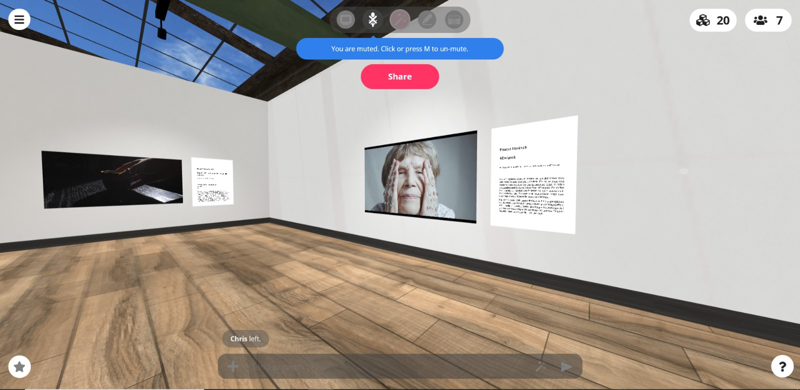 virtuelle Galerie - iAKW